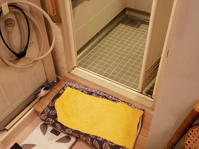 4.浴室入口(Before)段差約15cm