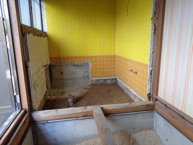 7.浴室解体