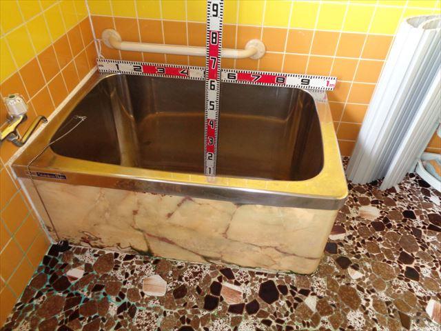 5.浴槽(Before) 深さ59cm