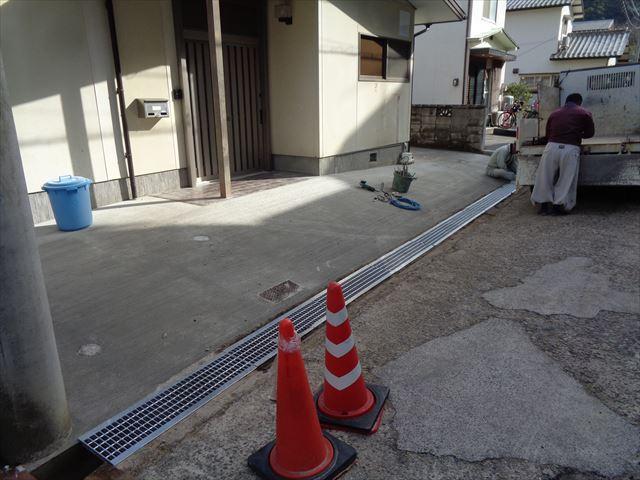 外構(ブロック塀撤去)駐車場(After)
