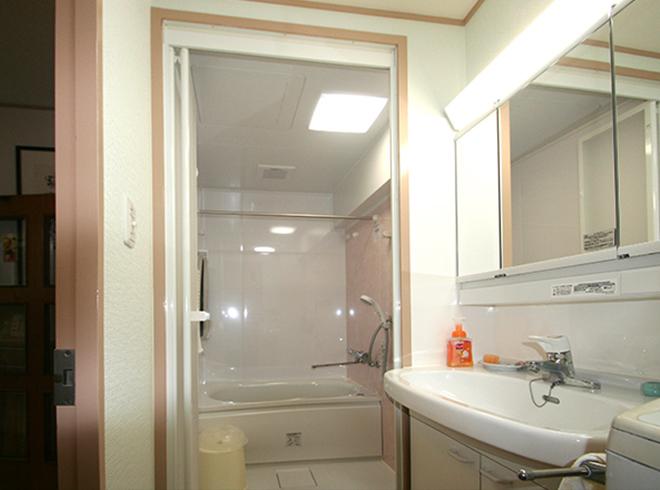 完成・洗面所~浴室